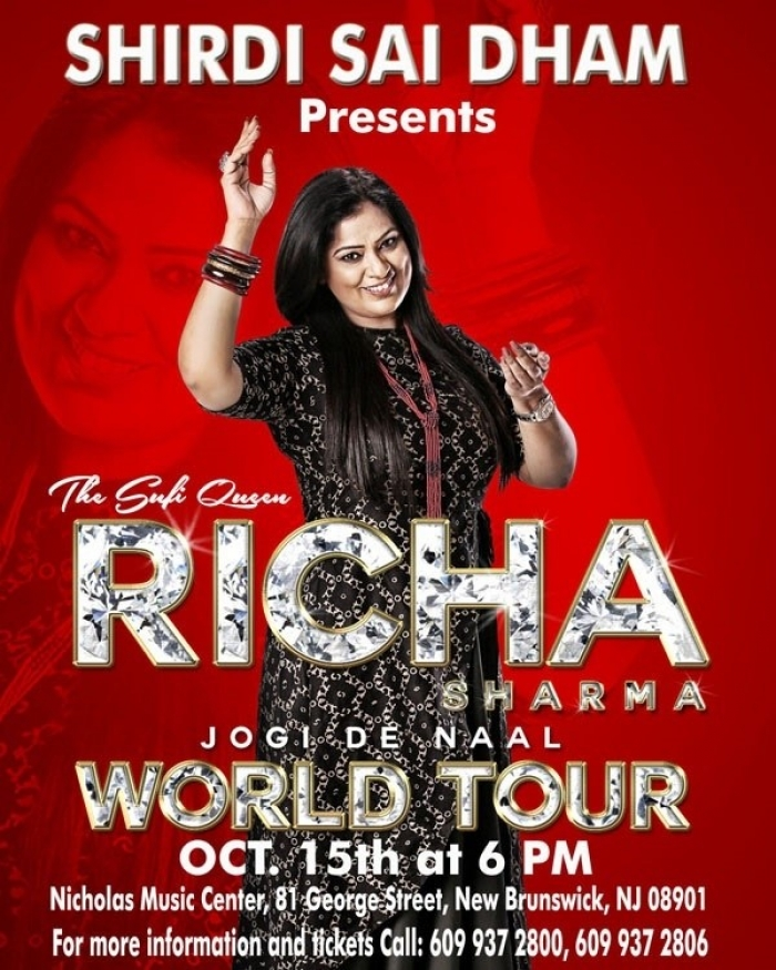 Richa Sharma World Tour concert