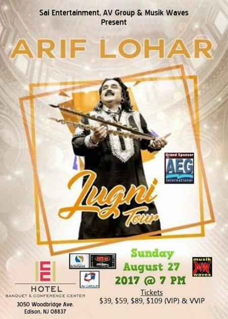 Arif Lohar Live Concert in New Jersey