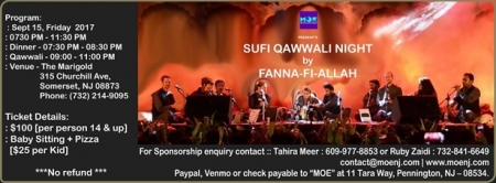 Sufi Qawwali Night by Fanna-Fi-Allah