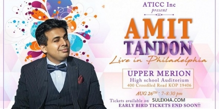 AMIT TANDON LIVE IN PHILLY!!