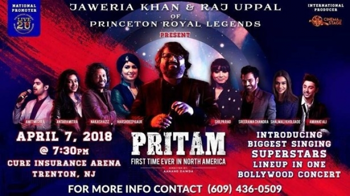 PRITAM LIVE IN CONCERT - New Jersey