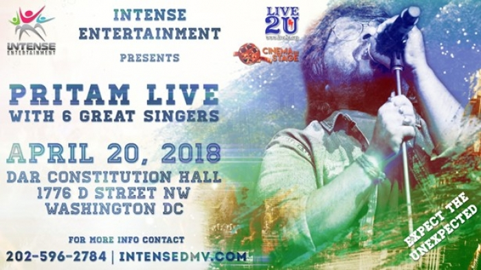 Pritam Live in Concert - Washington, D.C