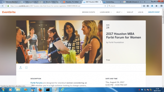 2017 Houston MBA Forté Forum for Women